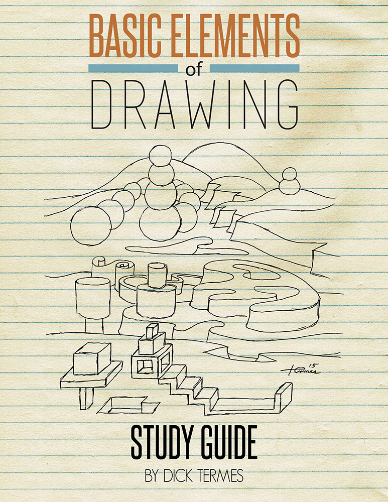 Basic Elements of Drawing Study Guide For Basic Elements